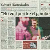 Interview with Sanjosex in El Punt-avui 2012-10-17